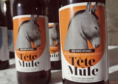 Bière Tête de Mule ambrée
