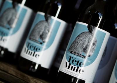 Bière Tête de Mule blonde