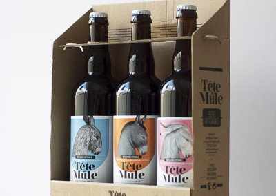 Coffret 3 bouteilles - Tête de Mule