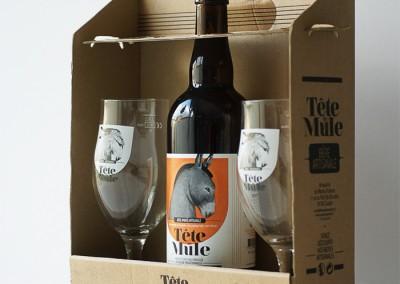 Coffret verre - Tête de Mule